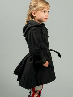 Sarah Louise Little Girls Navy Coat & Hat | Babies