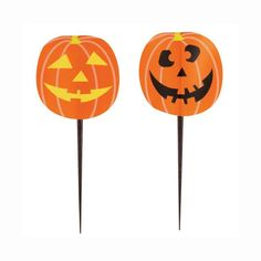 Pumpkin Halloween Toothpicks, 8ct