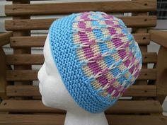 This pattern was designed for Delaware Head Huggers. Pattern instructions include information for super bulky, chunky, worsted and sport weight yarn as well as how to adjust the size. Knitted Blankets, Knitted Hats, Crochet Hats, Kids Crochet, Crochet Ideas, Knitting Patterns Free, Free Knitting, Hat Patterns, Knitting Ideas