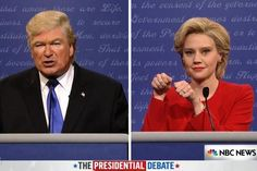 Saturday Night Live takes on first presidential debate