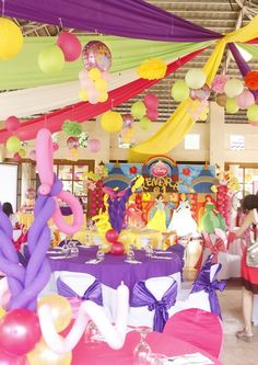 "Photo 1 of 9: Disney Princess Party / Birthday ""Kendra's Princess Party"" | Catch My Party"