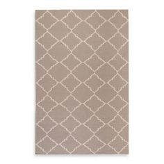 Winslow Rug in Grey/Ivory - BedBathandBeyond.com