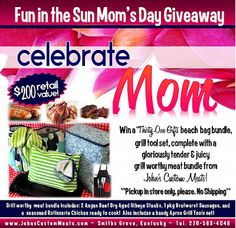 Fun in the Sun a Mom's Day #GIVEAWAY