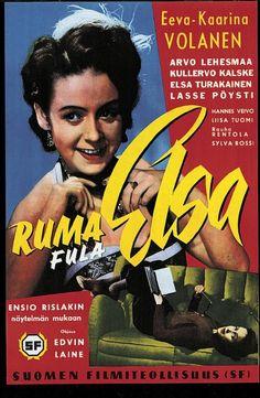 Ruma Elsa (1949) Finland, I Movie, Elsa, Novels, Film, Tv, Books, Movie Posters, Movie