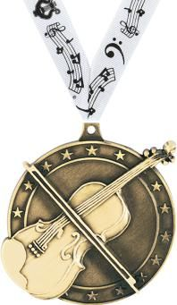 Solid Die Cast #Violin #Medal Is Great to Present to Violin Players! http://www.crownawards.com/StoreFront/CM09VNRG.ALL.Medals-Dogtags.2%22_Violin_Medals.prod