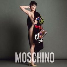 Katy Perry naakt voor kledingmerk Moschino. Meer foto's hierrrr: http://prutsfm.nl/prutsfm/?p=108250