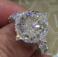 925 Silver White Sapphire Birthstone Engagement Wedding Jewelry Ring New SZ – Engagement Rings Classic Engagement Rings, Engagement Jewelry, Wedding Jewelry, Wedding Engagement, Solitaire Engagement, Huge Wedding Rings, Expensive Wedding Rings, Most Expensive Jewelry, Solitaire Rings