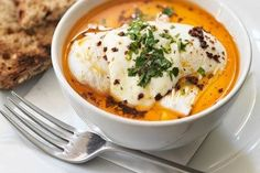 Cilbir (Turkish eggs)