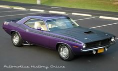 1970 Purple Cuda