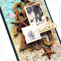 Lucky - rusty tag