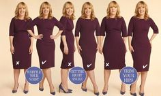 How to pose and to look slimmer :)