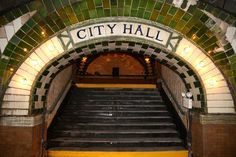 LOST WORLD INDUSTRY - SUBWAY - U.S.A. NEW YORK CITY - CITY HALL STATION 27.10.1904 - 31.12.1945