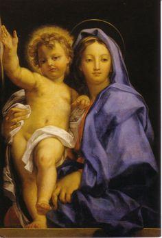 MARATTA Carlo - Italian (Carmerano 1625-1713 Roma) ~ madonna with child