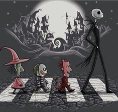 Most Impressive Fan-Made Nightmare Before Christmas Art Work...