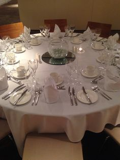 Included in our packages for weddings and private dining