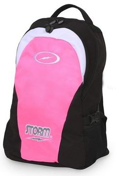 Accessories 50812: Storm Bowling Bowler S Backpack Pink Black -> BUY IT NOW ONLY: $41.9 on eBay!