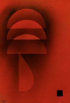 "Wassily Kandinsky - ""Quiet burning"", 1928"