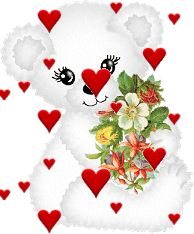 You my bear Beautiful Gif, Beautiful Tattoos, Beautiful Roses, Love Heart Images, Love You Images, Jesus Pictures, Gif Pictures, Dont Love Me, Cute Love
