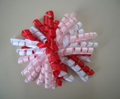 Save yourself some money buying those boutique bows and make them at home yourself. They're easy! I promise!