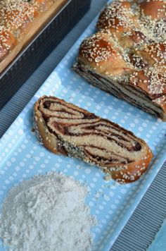 Spelt Flour Challah Dough Rolls & Chocolate Babka by Food Wanderings ~ IndianSimmer - Indian food made easy plus more!