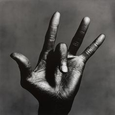 Irving Penn  American, 1917–2009  The Hand of Miles Davis, New York, 1986