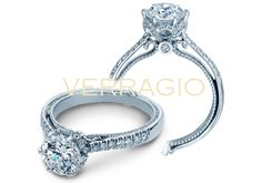 COUTURE-0429R engagement ring from The Couture Collection of diamond engagement rings by Verragio