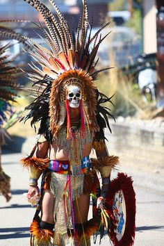 Aztec Indian Outfit