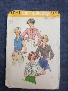 70s Simplicity 6161 Pattern // Young Junior by ElkHugsVintage, $3.00