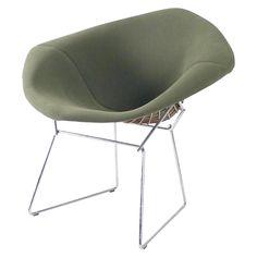 Harry Bertoia Diamond Chairs | 1stdibs.com