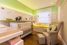 quarto infantil com adesivos de parede by arq design
