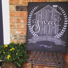 "New ""Home Sweet Home"" designs. Order your personalized one today!"