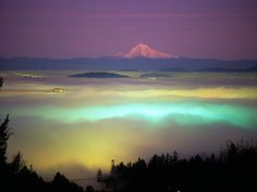 Willamette river valley fog
