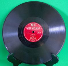 """1947 Columbia 10"""" Shellac 78 RPM Record, Doris Day & Buddy Clark, Play-Rated! - $2.95"""