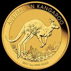Allocated Perth mint 1oz gold kangaroo