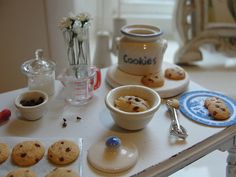 Making cookies 1:12 | por It's a miniature life...is playing with clay