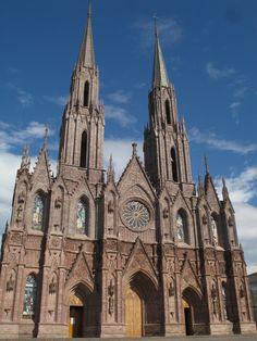 Cathedral Daytime, Zamora Michoacan, Mexico