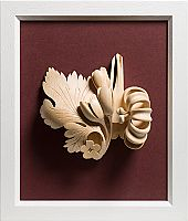 This is a stunning piece that could go on any wall! Hand carved Irish Limewood by James McLoughlin Wood Stone, Wood Tools, Stone Sculpture, Glass Ceramic, Some Ideas, Wood Furniture, Wood Art, Still Life, Woodworking Projects