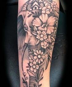 elephants tattoo design Style : Mind Blowing Elephant Tattoo Designs With Images Elephant Tattoo Designs This Is A Nice Half Sleeve Tattoo For Women Traditional Elephant Tattoo A Very Colorful Design Of An Elephant Tattoo Cute Elephant Tattoo Designs A Elephant Thigh Tattoo, Elephant Tattoo Meaning, Cute Elephant Tattoo, Elephant Tattoo Design, Mandala Elephant Tattoo, Colorful Elephant Tattoo, Dope Tattoos, Body Art Tattoos, Tatoos