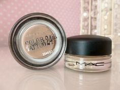 Maybelline Creme De Rose Colour Tattoo V's MAC Painterly Paint Pot - Are They A Dupe?