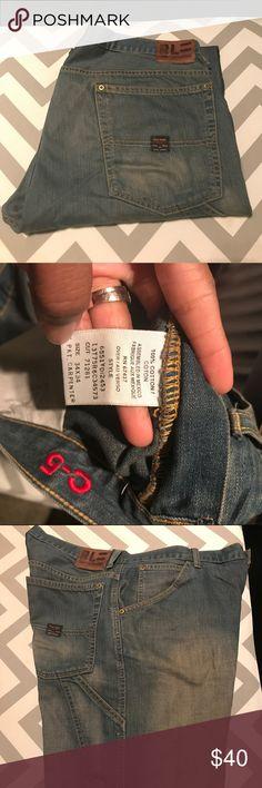"""Rare Vintage """"RL"""" Ralph Lauren carpenter jeans Rare Vintage RL"""" Ralph Lauren carpenter jeans. 34x34. Great condition! Ralph Lauren Jeans"""