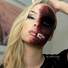 Photo Credit http://www.fashionmio.com/30-ultimately-cool-halloween-makeup-ideas/