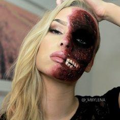 Photo Credit http://www.fashionmio.com/30-ultimately-cool-halloween-makeup-ideas/