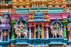 Colorful hindu temple Stock Photos, Illustrations and Vector Art - Page 2 | Depositphotos® Images Of Shiva, Bull Images, Stock Pictures, Stock Photos, Unique Facts, Asian Architecture, Madurai, Hindu Temple, Graphic Design Tutorials