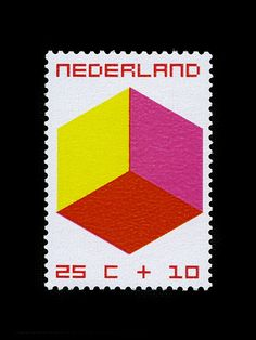 Nederland 1970  The Child and The Cube by William Pars Graatsma