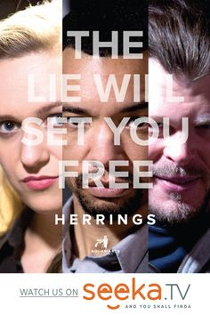 """""""Herrings"""" is a dramatic web series about a man who uses """"alternative facts"""" to hide people who are feeling persecuted and desperately seeking a way out, by disguising their internet footprint. #seekatv #thriller #webseries #herrings"""
