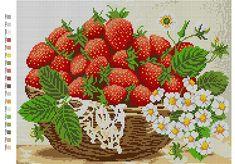 Cross Stitch Fruit, Cross Stitch Tree, Beaded Cross Stitch, Cross Stitch Flowers, Diy Bead Embroidery, Embroidery Kits, Cross Stitch Embroidery, Cross Stitch Designs, Cross Stitch Patterns