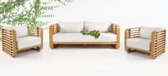 Ocean Teak Seating Collection