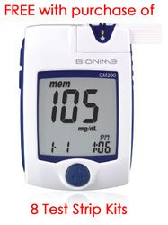 The Rightest GM300 Blood Glucose Monitoring System by BIONIME is accurate in testing patients' blood glucose level.