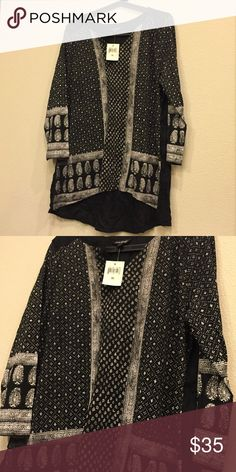 Lucky brand tunic size xl New w tags Lucky Brand Tops Tunics