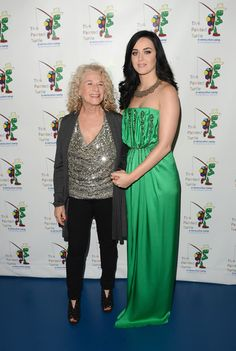 Katy Perry and Carole King